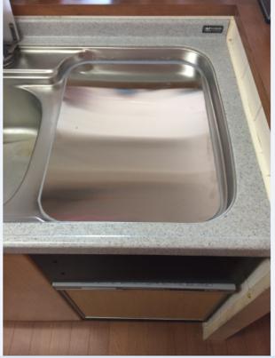 川崎市S様邸トップオープンタイプの食器洗い乾燥機の交換