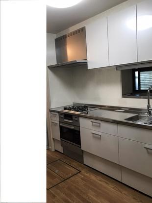 収納とスペック重視のキッチンリフォーム