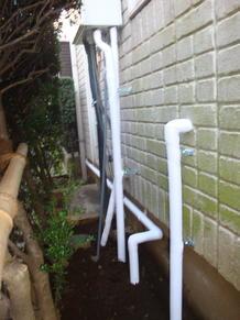 一戸建漏水工事(メーターから各水周り上水管取替工事)