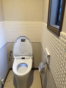A様邸 1F/2F トイレ工事・廊下フローリング張替