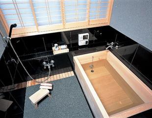 香る檜 くつろぎの和風浴室