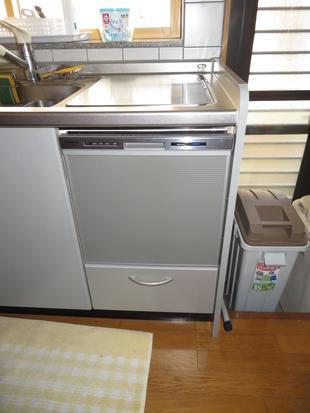 トップオープン食洗機交換