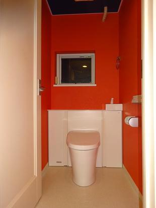 有名ブランドの様なトイレの内装!