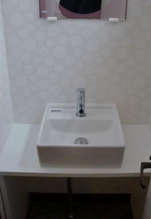 店舗の手洗いリフォーム