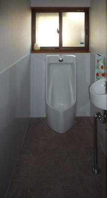 S様邸男子トイレ改装工事