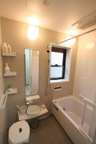 ぴったりサイズの浴室