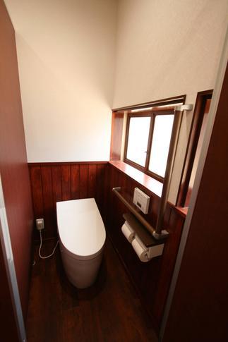 至せり尽くせりのトイレ空間