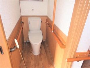 おばあちゃん専用のトイレ