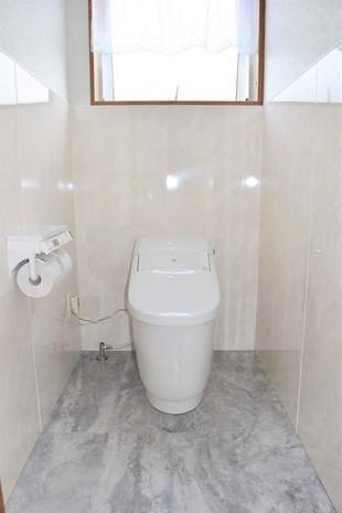 お客様へのおもてなしトイレ空間