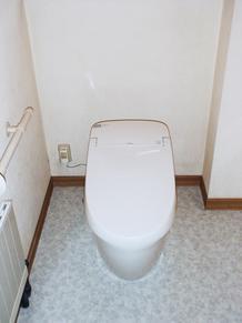 トイレ入替リフォーム 総額25万円