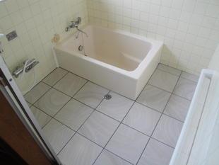 浴槽交換&タイル重ね張り