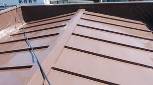 T様邸 屋根の塗装工事