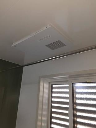 乾燥暖房機の交換工事 南アルプス市