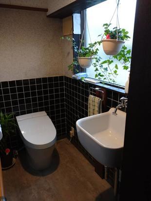 和式トイレから洋式トイレにしました!