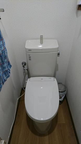 トイレの取替をしました!