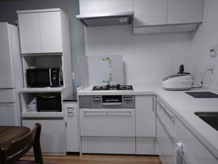 キッチンをI型からL型に取替工事しました!