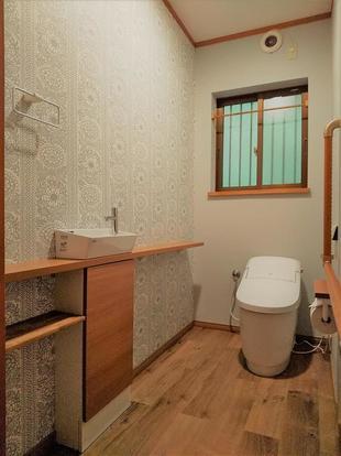 介護重視のデザイントイレ