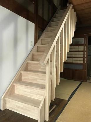 階段のリフォーム工事