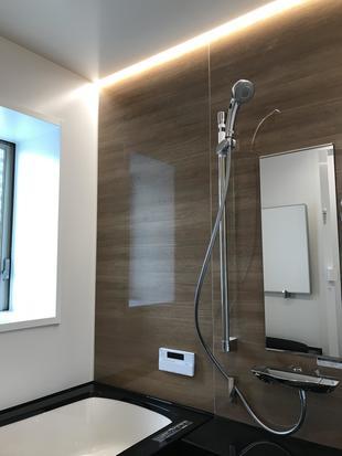 浴室リフォーム LIXIL浴室最上グレード スパージュ設置