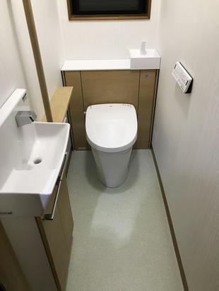 収納付きトイレでスッキリ!
