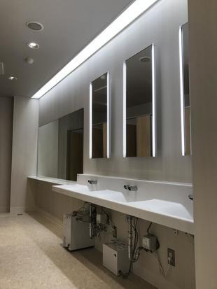 静岡デザイン専門学校様 1.2.4階 トイレ改修工事