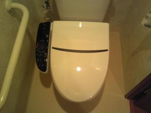 シャワートイレ・ピクチャーレール