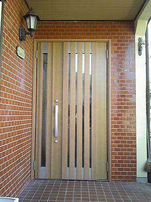 玄関ドアをリシェントに♪冬暖かく夏涼しい過ごしやすい空間へ