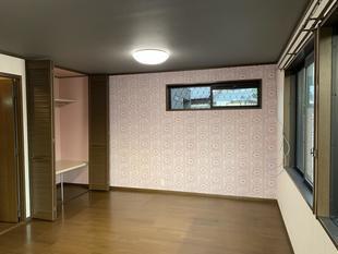 岡崎市 2つの部屋を1つのお部屋にリフォーム!