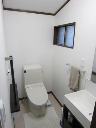 2階のトイレも使いやすく(トイレ改装工事)