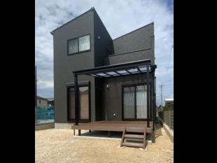 デッキとテラス屋根設置で家事負担軽減します!
