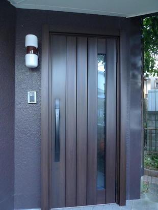 1日施工!!玄関ドア取替え工事
