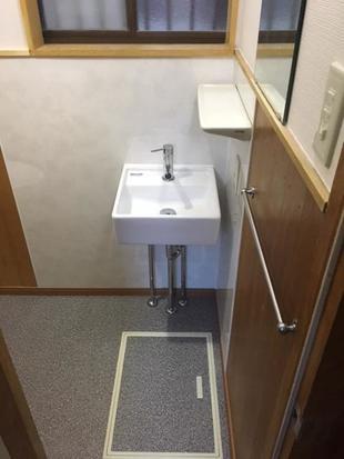 トイレを広々空間にリフォーム