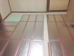 冬の断熱対策リフォーム (二重窓&真空断熱材ココエコ)