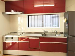 キッチンの左右を入れ替えるだけで、使いやすく明るいキッチンに!