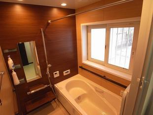 快適なバスルーム空間