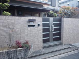 堺市F様邸 エクステリア工事