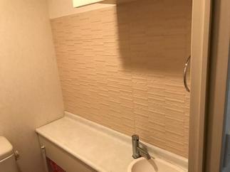トイレの壁にも!