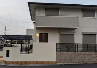 堺市南区 Y様邸外構工事