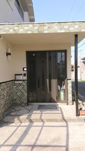 玄関ドア取替工事