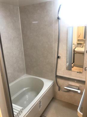 マンション浴室改装工事