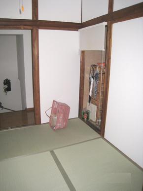 和室の壁,天井を改装して、とても明るいお部屋になりました!