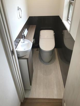 和室にトイレを新設して更に便利になりました