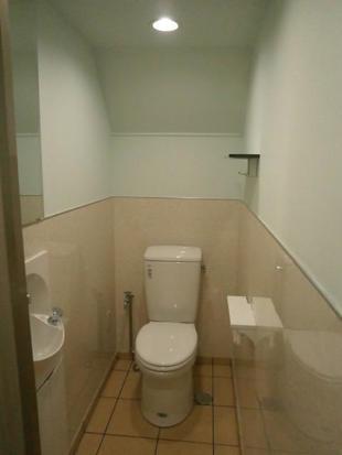 和式からつい使いたくなる洋式トイレへ(中央区)