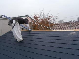 屋根の軽量化(耐震リフォーム)