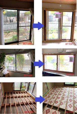 生駒市省エネ改修補助金を利用した断熱工事で夏も冬も快適に!