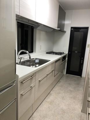 機能的なキッチンで作業効率もアップ!