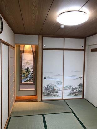 和室床の間工事   奈良市