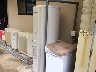 電気温水器リニューアル