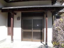 玄関サッシのリフォーム