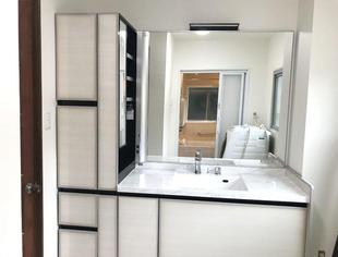 化粧洗面台、浴室、トイレリフォーム